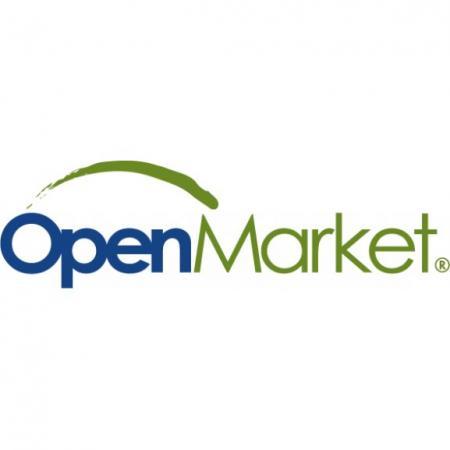 Open Market Logo Vector