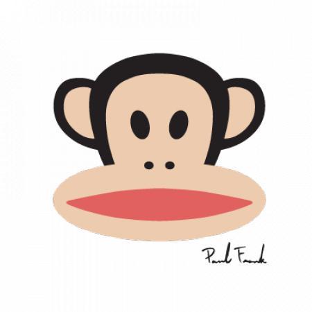 Paul Frank Monkey Logo Vector