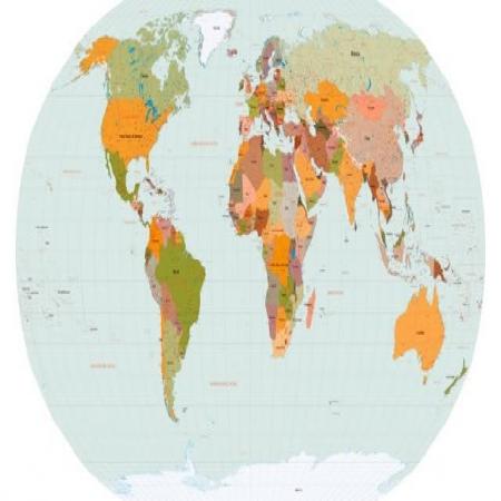 World Map Vector Logo Vector