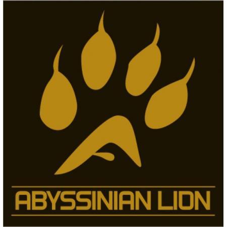 Abyssinian Lion Logo Vector