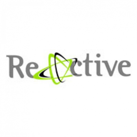 Reactive Logo Vector