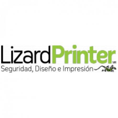 Lizardprinter Logo Vector