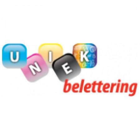 Uniek Belettering Logo Vector