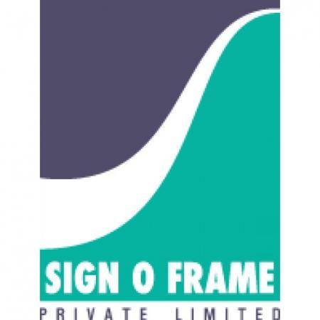 Sign O Frame Logo Vector