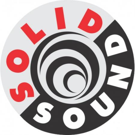 Solid Sound Logo Vector