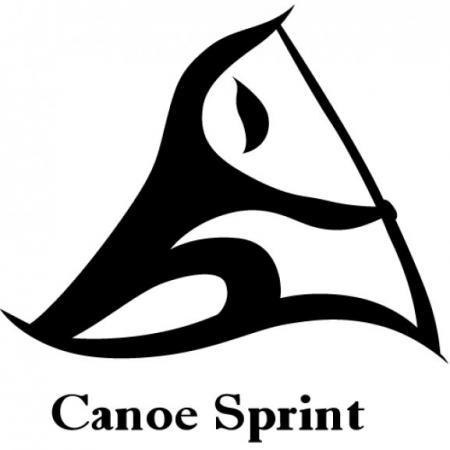 canoe sprint logo vector eps download for free