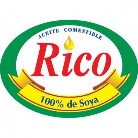 Aceite Rico Logo Vector