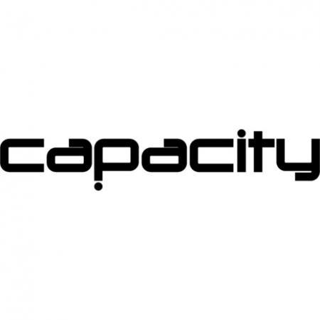 Capacity Magazine Logo Vector