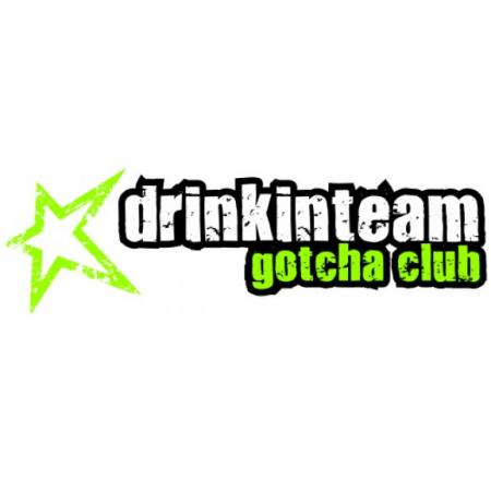Drinkinteam Gotcha Club Logo Vector