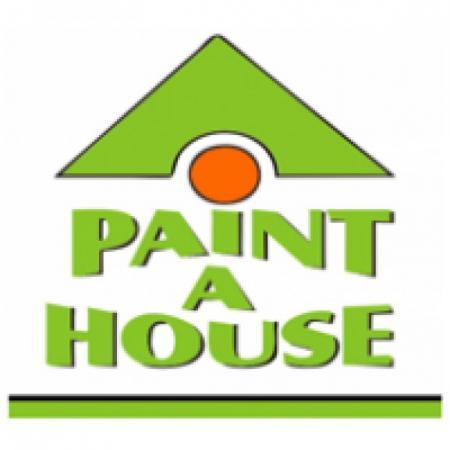 Paint A House Logo Vector