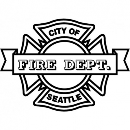 Seattle Fire Dept Logo Vector (EPS) Download For Free