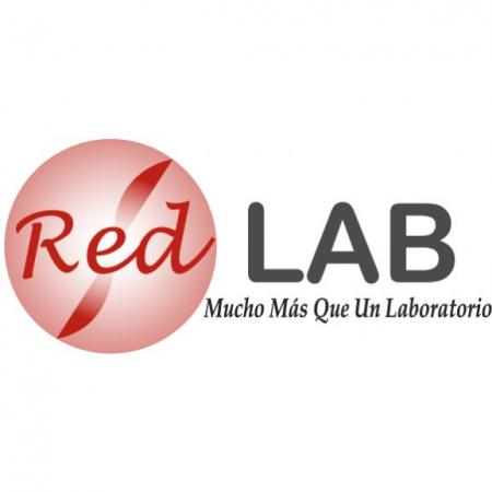 Red Lab Logo Vector
