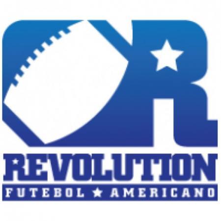 Revolution Futebol Americano Logo Vector