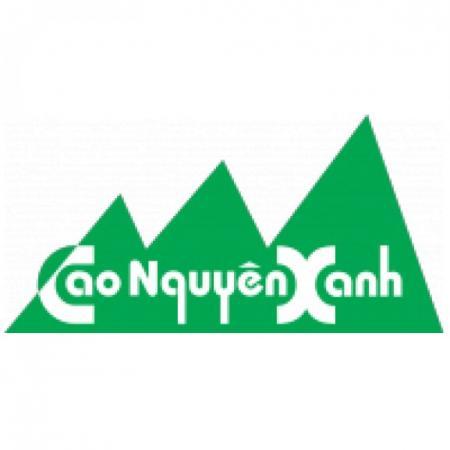 Cao Nguyen Xanh Logo Vector