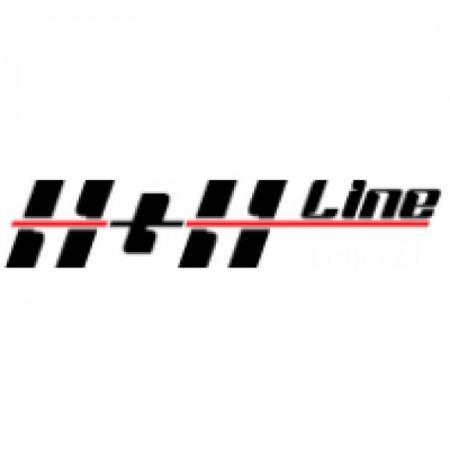 H+h Line Logo Vector