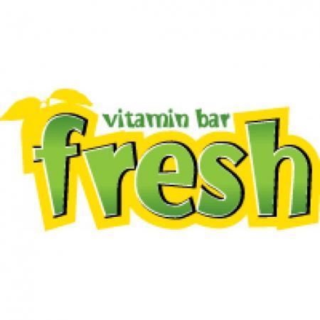 Fresh Vitamin Bar Logo Vector