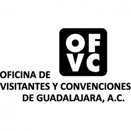 Oficina De Visitantes Y Convenciones De Guadalajara Logo Vector