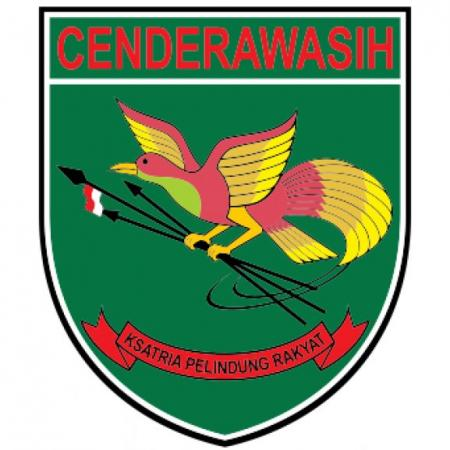 kodam xvii cenderawasih logo vector cdr download for free