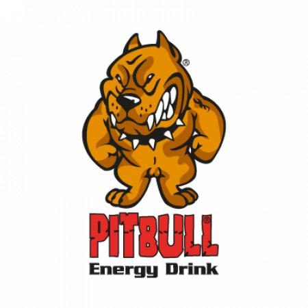 Pitbull Energy Drink Logo Vector
