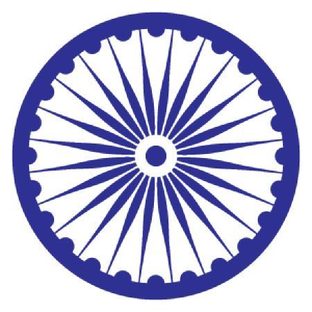 Ashoka Chakra Logo Vector