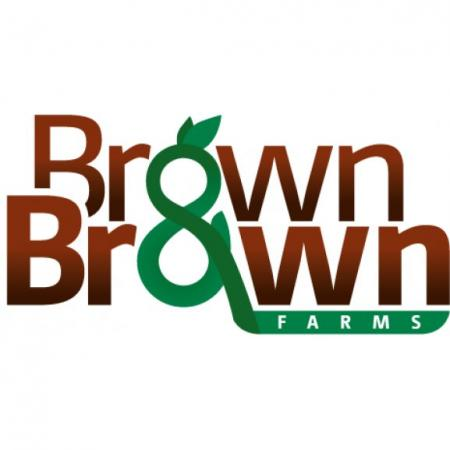 Brown And Brown Farms Logo Vector