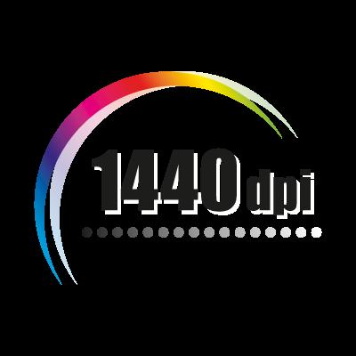 1440 Dpi Logo Vector