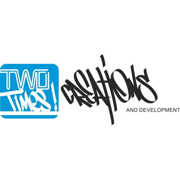 2 Times Creations And Development Logo Vector