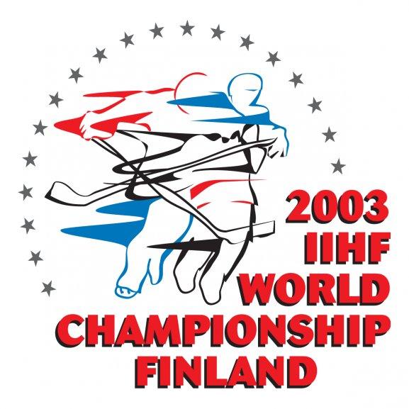 2003 Iihf World Championships Finland Logo Vector