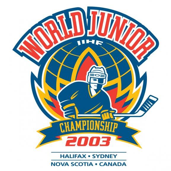 2003 Iihf World Junior Championship Logo Vector