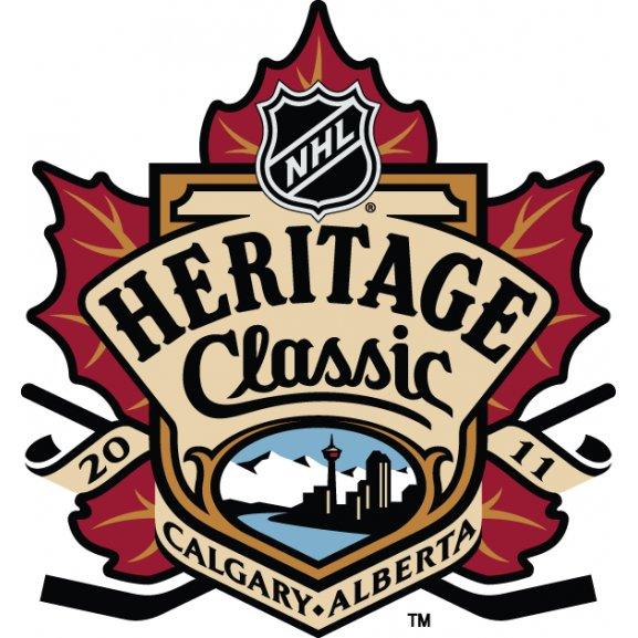 2011 Nhl Heritage Classic Logo Vector
