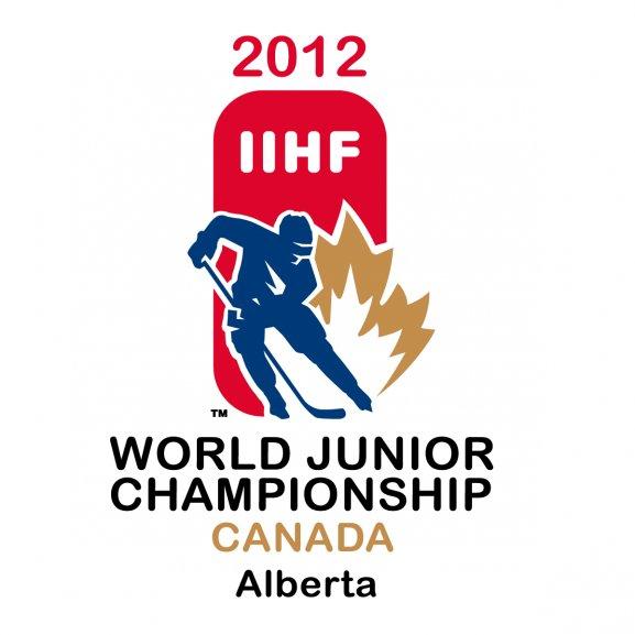 2012 Iihf World Junior Championship Logo Vector
