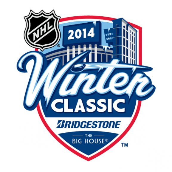 2014 Nhl Winter Classic Logo Vector