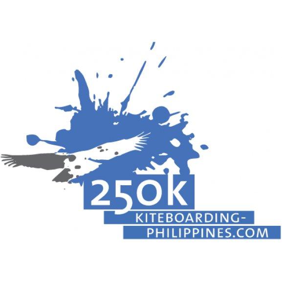 250k Kiteboarding Philippines Logo Vector