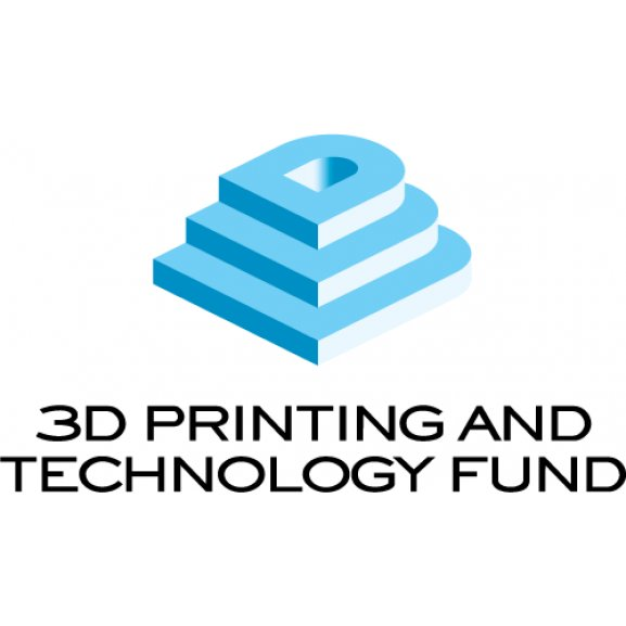 3d Printing And Technology Fund Logo Vector