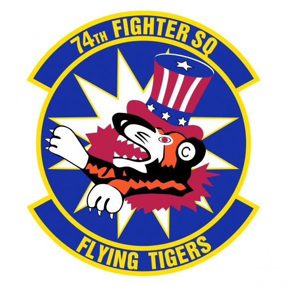 74th Fighter Squadron Logo Vector