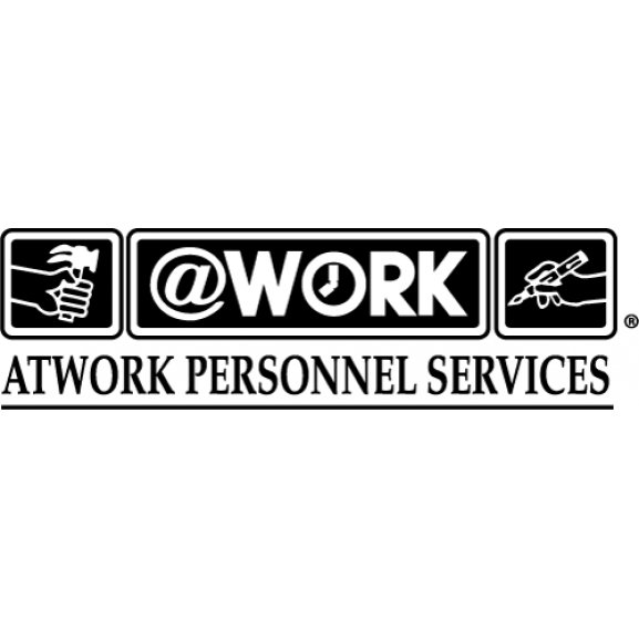 @work Personnel Services Logo Vector