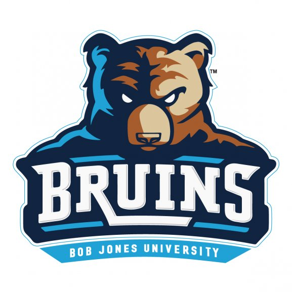 Bruins Bob Jones University Logo Vector