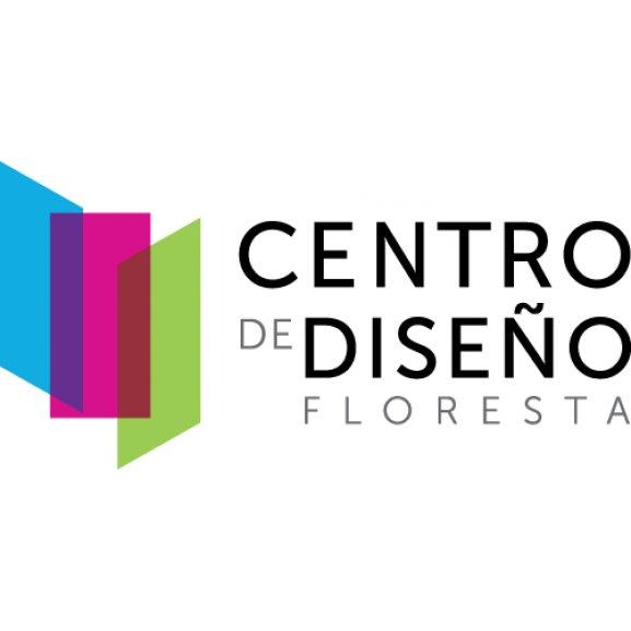 Centro De Diseo Floresta Logo Vector
