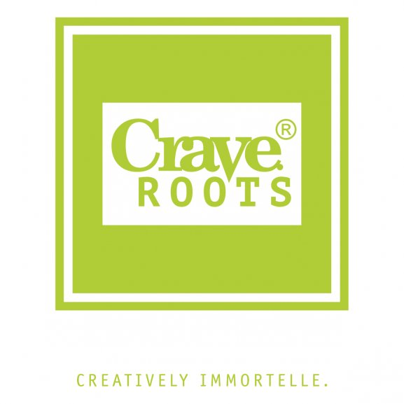 Crave Roots Logo Vector