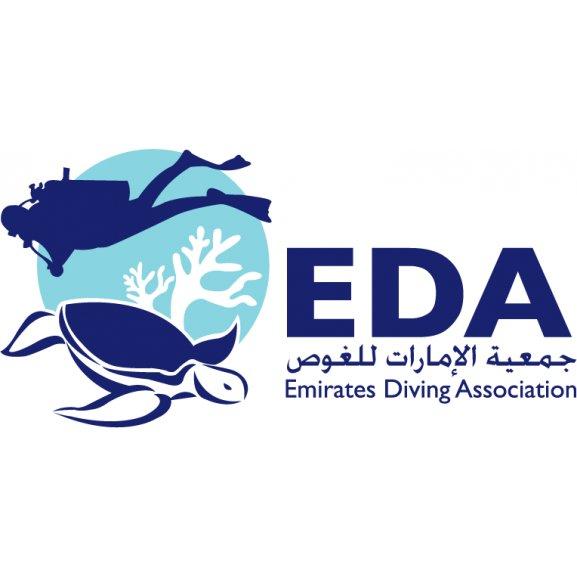 Emirates Diving Association Logo Vector