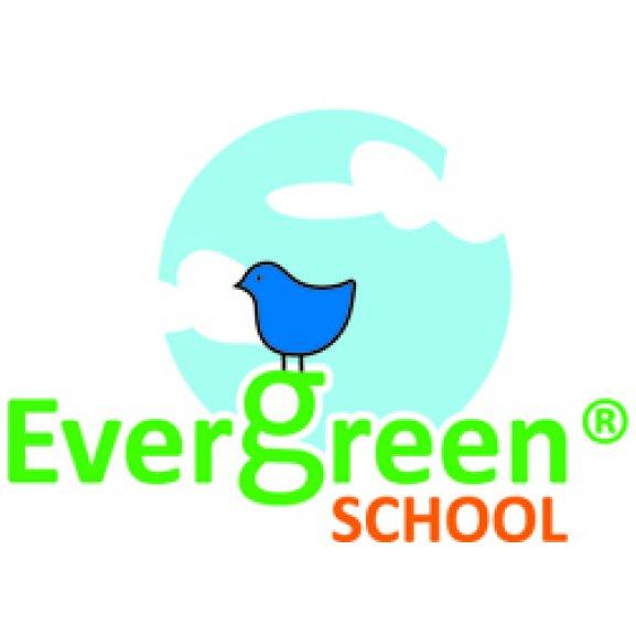 Evergreen School Logo Vector