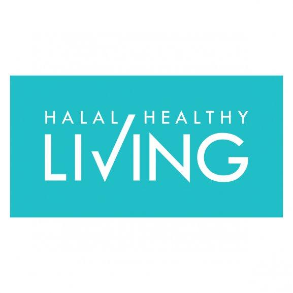 Halal Healthy Living Logo Vector