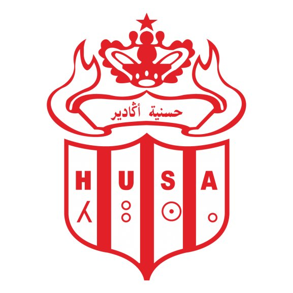 hassania agadir husa logo vector ai download for free