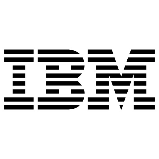 Ibm  Black Logo Vector