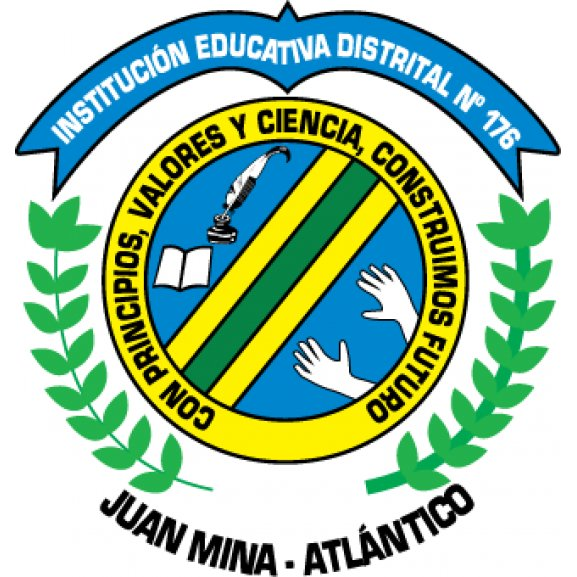 Institucin Educativa Distrital N 176 Logo Vector