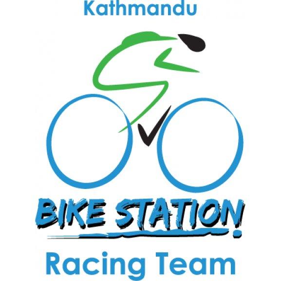 Kathmandu Bike Station Logo Vector