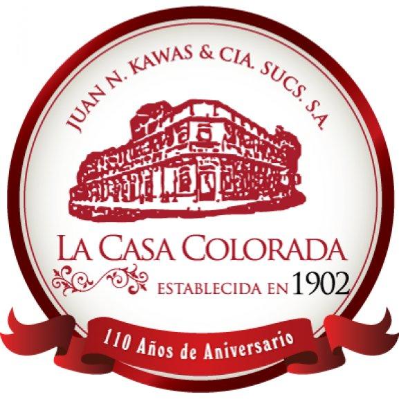 La Casa Colorada Logo Vector