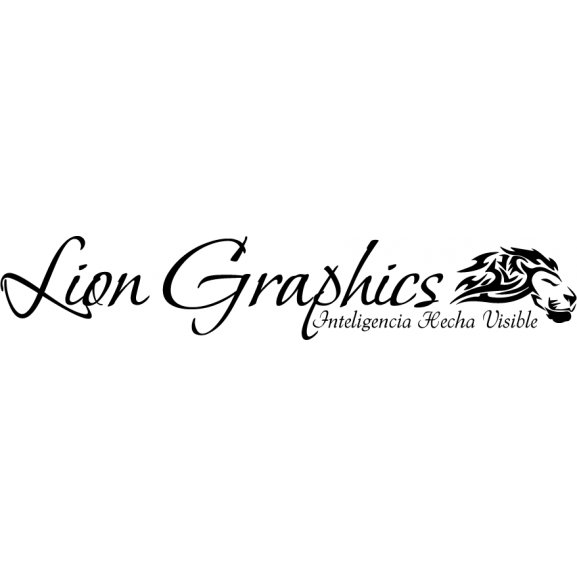 Lion Graphics Logo Vector