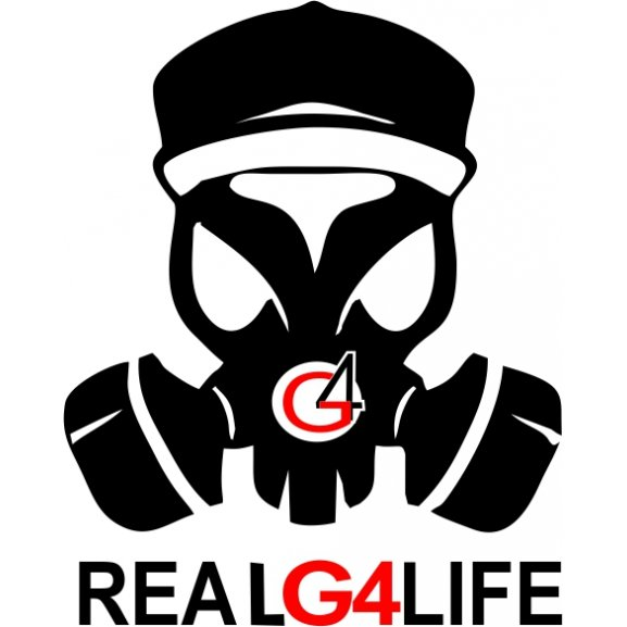 real g4 life logo vector (cdr) download for free