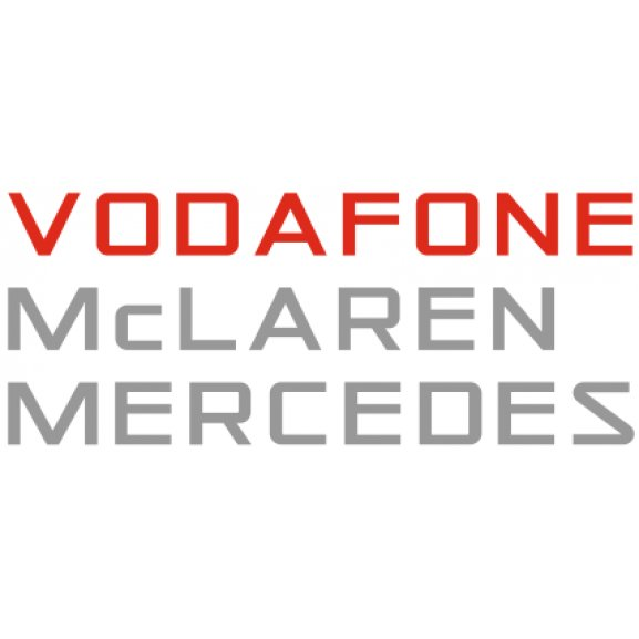 Vodafone mclaren mercedes logo vector cdr download for free for Mercedes benz font download